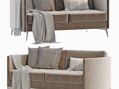 意大利Arflex現代雙人沙發模型3d模型