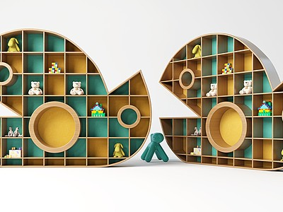 創意柜子模型3d模型