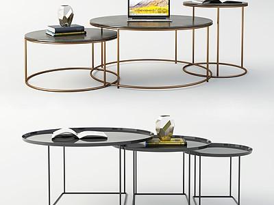 現代茶幾模型3d模型