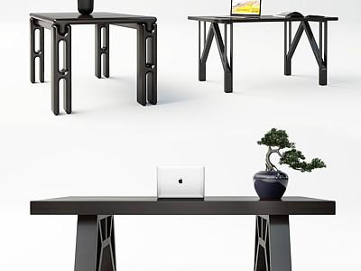 現代休閑桌模型3d模型