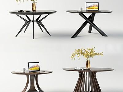 現代圓桌模型3d模型