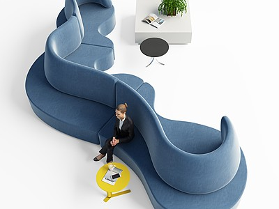 室內休閑沙發模型3d模型