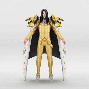 王者荣耀2013男游戏角色模型