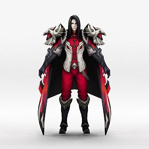 男游戏角色王者荣耀2013模型