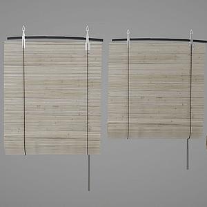 百葉窗簾模型