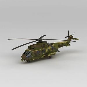 軍用直升機模型