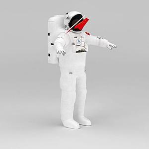 宇航員模型