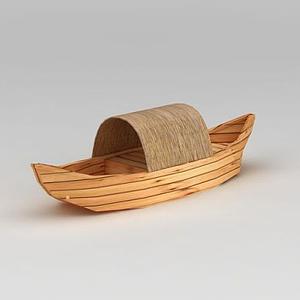 烏篷船模型