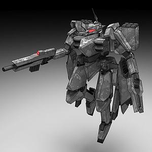3d机甲模型