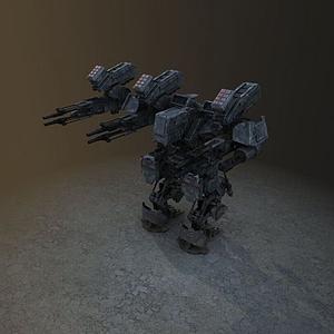 3d游戲機器人模型