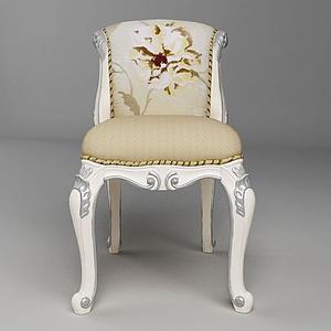 歐式椅子模型