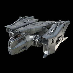 3D飛船戰機模型