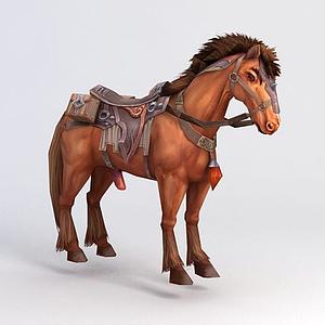 千里飛騎汗血寶馬模型