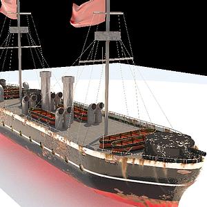 甲午戰爭軍艦模型