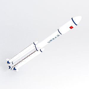 長征七號火箭模型