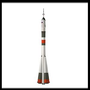 俄羅斯聯盟號火箭模型