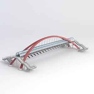過街天橋模型