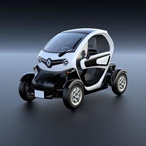 雷諾Twizy電動汽車3D模型