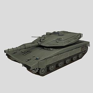 3d以色列梅卡瓦<font class='myIsRed'>坦克</font>模型