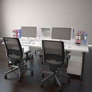 办公桌模型