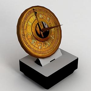 游戲指南針模型