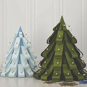 3d圣诞树圣诞节模型