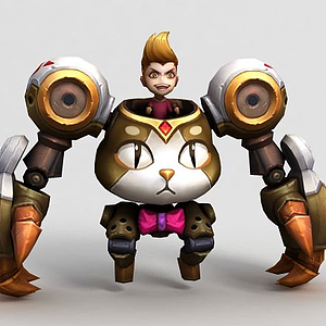 王者榮耀男角色人物模型