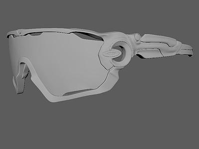 眼鏡組合3d模型