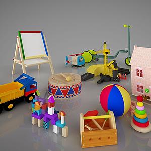 兒童玩具積木畫板組合模型