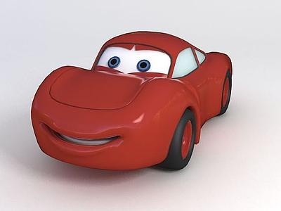 卡通汽車玩具模型