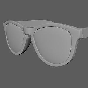 3d<font class='myIsRed'>眼镜</font>组合模型