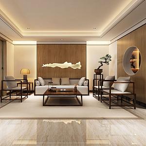 3d休闲茶室模型
