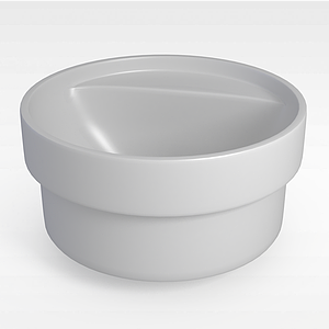 圓形按摩浴缸模型