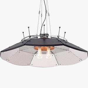 工業吊燈模型