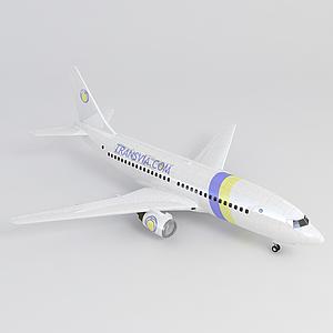 客机免费3d模型