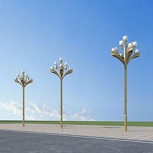 芙蓉路燈模型
