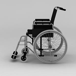 医用轮椅模型