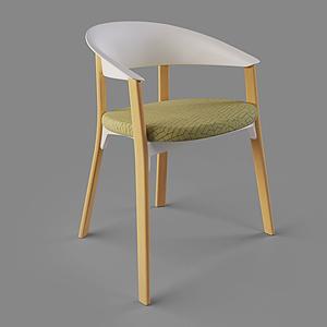 3d北歐休閑椅單椅<font class='myIsRed'>家居</font>椅模型