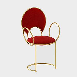 3d現代休閑椅<font class='myIsRed'>家居</font>單椅模型