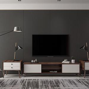 電視柜床頭柜休閑椅模型