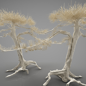 3d植物<font class='myIsRed'>盆栽</font>模型