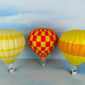 熱氣球模型