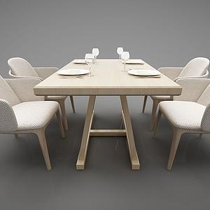 3d餐桌模型