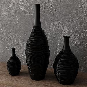 花瓶組合模型