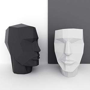 人物雕塑模型
