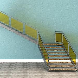 3d樓梯模型