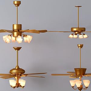 風扇燈模型