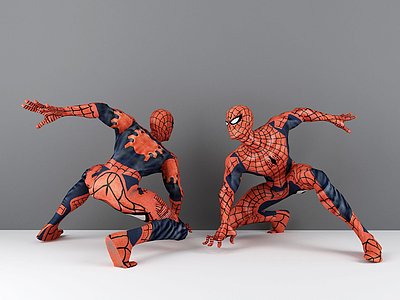 3d蜘蛛俠模型
