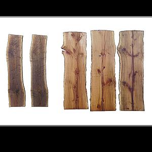 實木木板模型