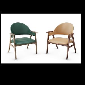 北歐單椅子模型